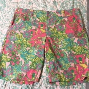 Lilly Pulitzer big squeeze resort fit shorts